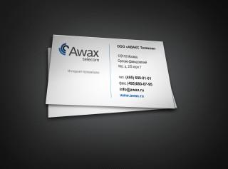 Визитка Awax Telecom